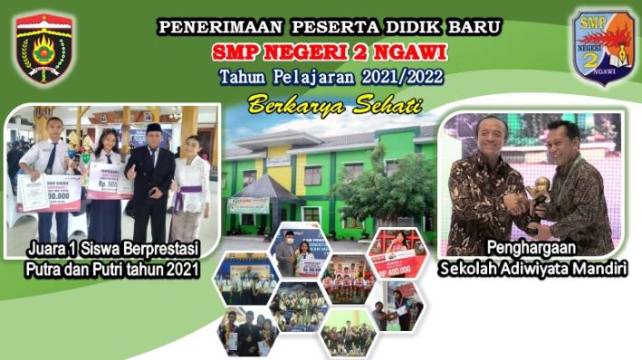PPDB Tahun 2021/2022 SMP Negeri 2 Ngawi